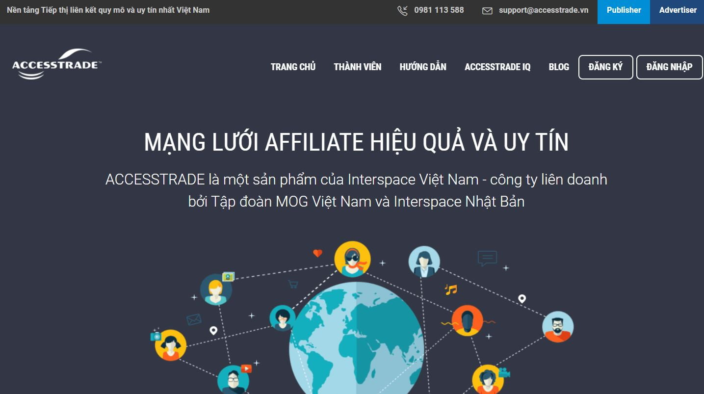bắt đầu blog kiếm tiền từ affiliate marketing