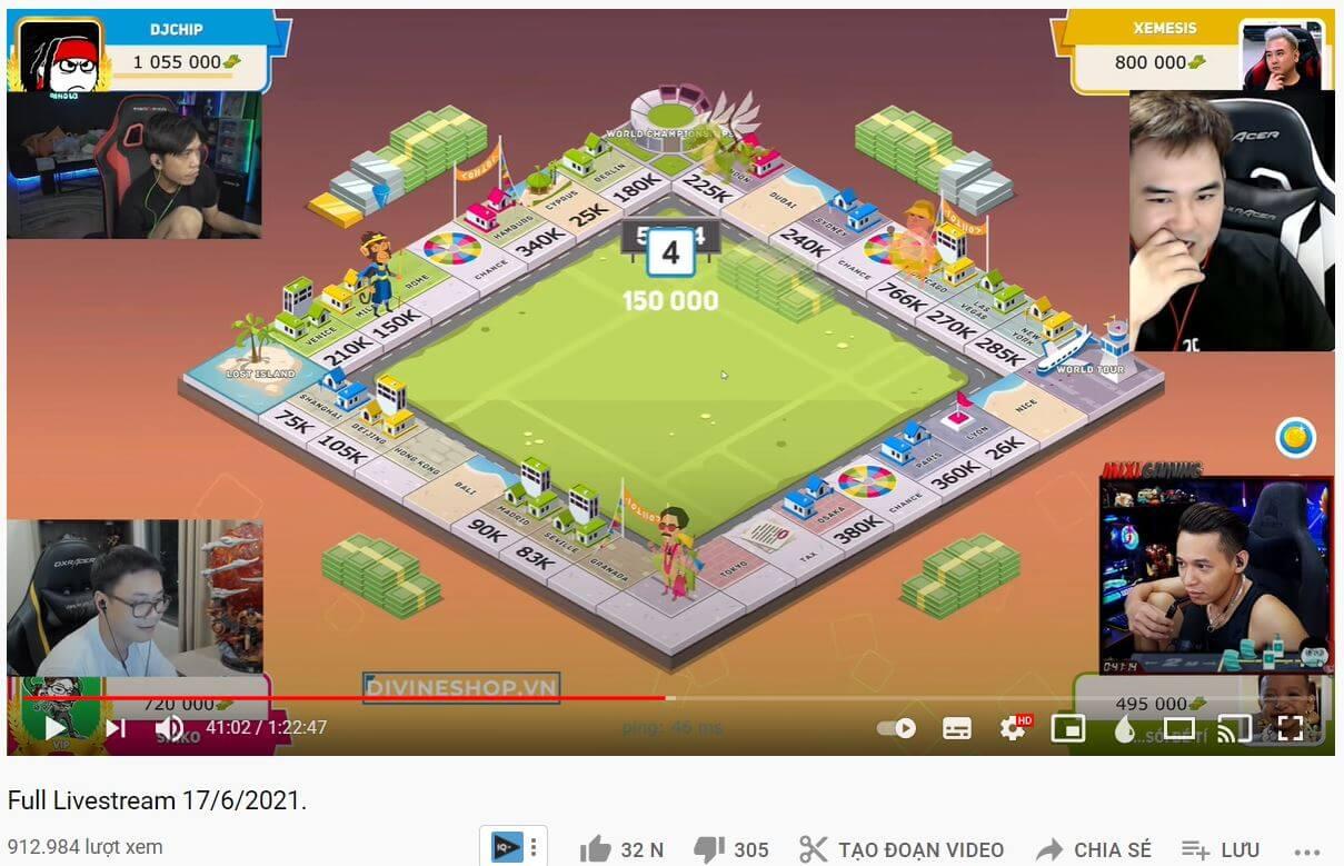 hợp tác streamer trên youtube