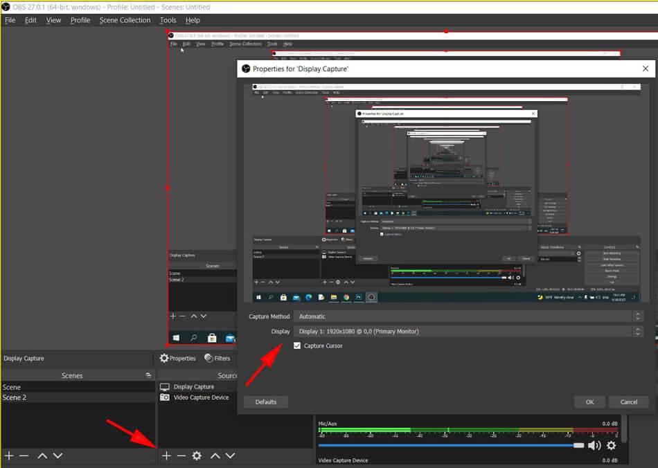 tạo cảnh 3 cho video trực tuyến youtube