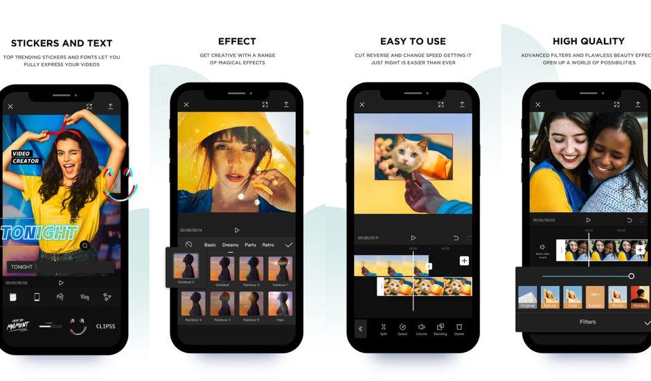 phần mềm chỉnh sửa video trên điện thoại capcut