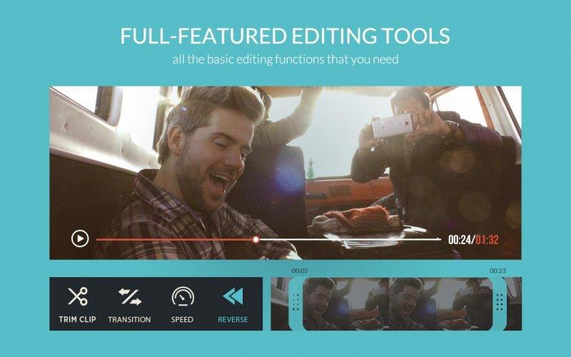 phần mềm chỉnh sửa video trên điện thoại filmora go