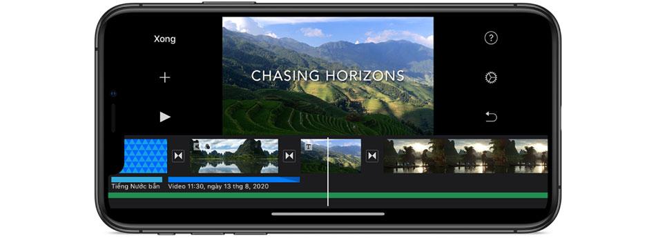 phần mềm chỉnh sửa video trên điện thoại imovie