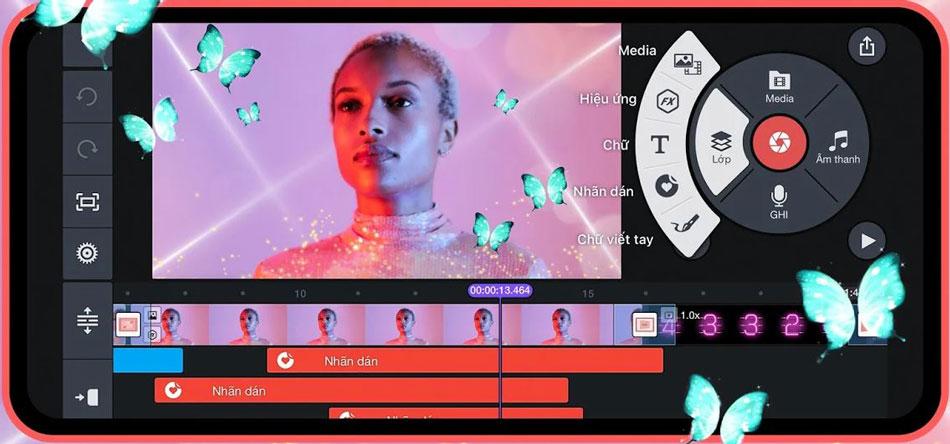 phần mềm chỉnh sửa video trên điện thoại kinemaster